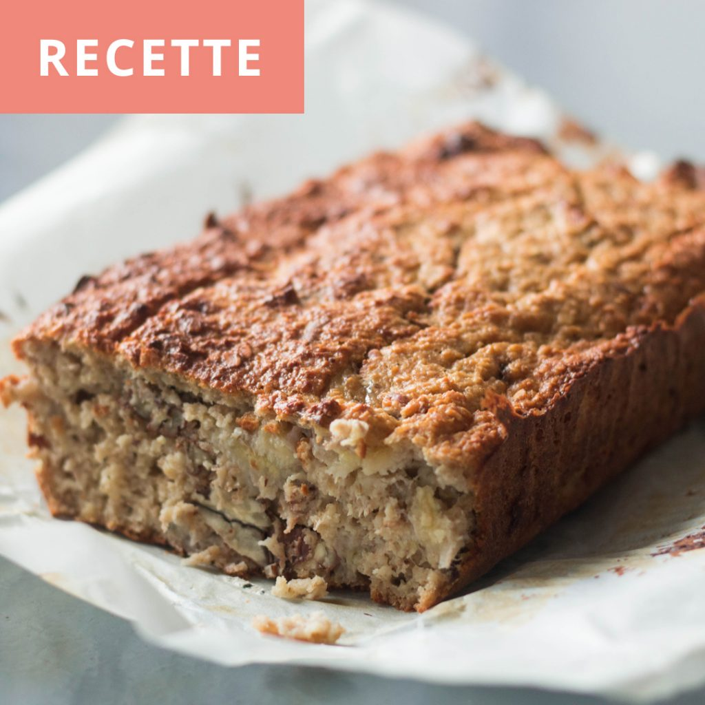 UN BANANA BREAD À TOMBER RAIDE